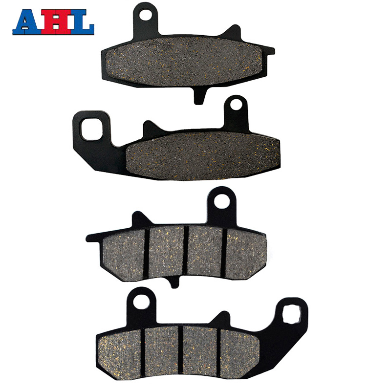 Motorcycle Front Rear Brake Pads Kit For SUZUKI DR650SL DR650SM <font><b>DR650</b></font> SL SM 1990 1991 DR650SE DR 650 SE 1992 1993 1994 1995 image