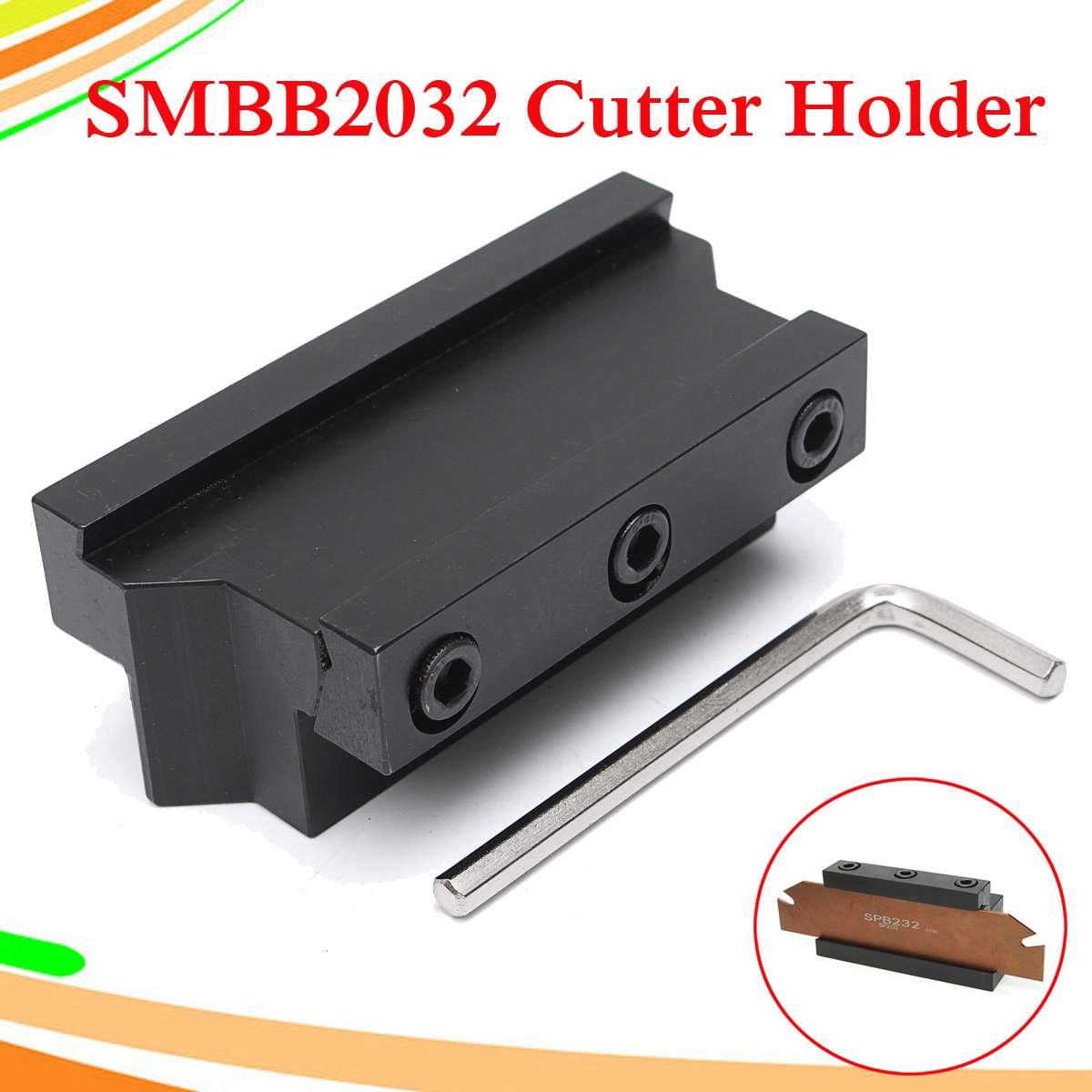 SMBB2032 Grooving Cut Off Blade Holder CNC Milling Cutter Holder For SPB32 Blade