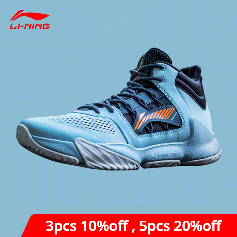 Li-Ning Men STORM 2019 On Court Basketball Shoes Cushion Durable LiNing Li Ning Cloud Sport Shoes Support Sneaker ABPP019 XYL289