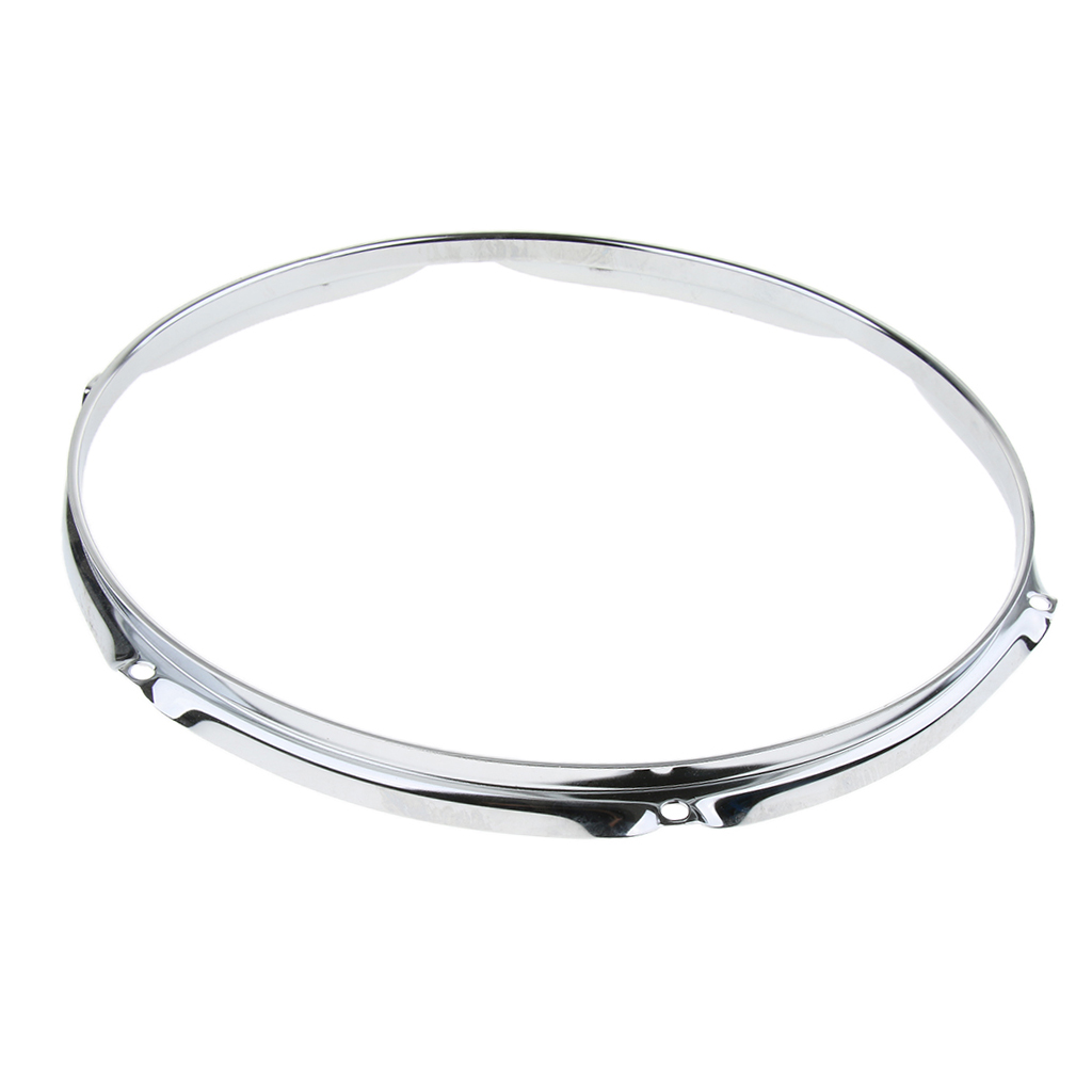 <font><b>14</b></font> Inch Snare Drum Plating Hoop Ring <font><b>Rim</b></font> for Drum Set Kit Parts image