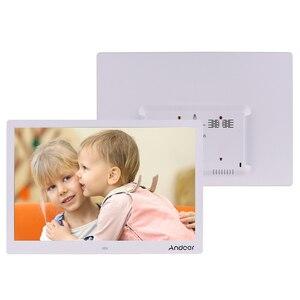 Image 2 - Andoer 15.4 pollici 1280*800 LED cornice per foto digitali 1080P riproduzione di Video HD con telecomando E Book di film musicali