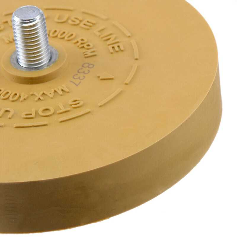 Auto Tool Pinstripe Heavy Duty Eraser Wheel Pad Car Decal Sticker Removal