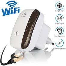 Wi-Fi ретранслятор усилитель WiFi удлинитель 300 Мбит/с беспроводной Wi-Fi диапазон расширитель Wi-Fi усилитель сигнала 802.11N точка доступа