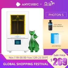 Anycubic Photon S 3D Printer Dual Z as Quick Slice 405nm Matrix Uv Module Sla 3d Printer Hars Photon 4s Verbeterde Impresora 3d