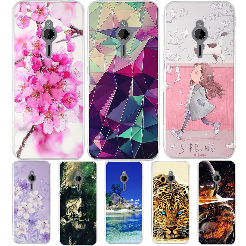 Funda For <font><b>Nokia</b></font> Lumia <font><b>230</b></font> Case Phone Silicone Back Bumper For <font><b>Nokia</b></font> N230 TPU Case Paint Shell For <font><b>nokia</b></font> <font><b>230</b></font> <font><b>Cover</b></font> 2.8 inch Coque image