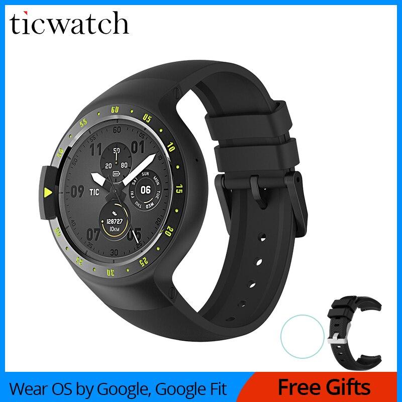 Original Ticwatch S Knight Smart Watch Android Wear 2.0 Bluetooth 4.1 WIFI Heart Rate IP67 Waterproof Built in GPS Sport Watch|smart watch|watch android|android wear - title=