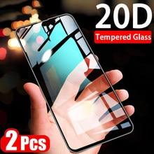 2 uds Full HD vidrio templado para ASUS Zenfone Max Plus Pro M1 M2 ZB633KL ZB631KL ZB602KL ZB601KL ZB570TL ZB634KL Protector de pantalla