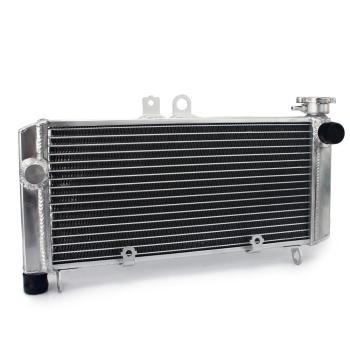 BIKINGBOY 26mm Aluminum Cores Engine Water Cooling Cooler Radiator For Honda CBF 600 S / SA ABS 2004 2005 2006 2007 04 05 06 07