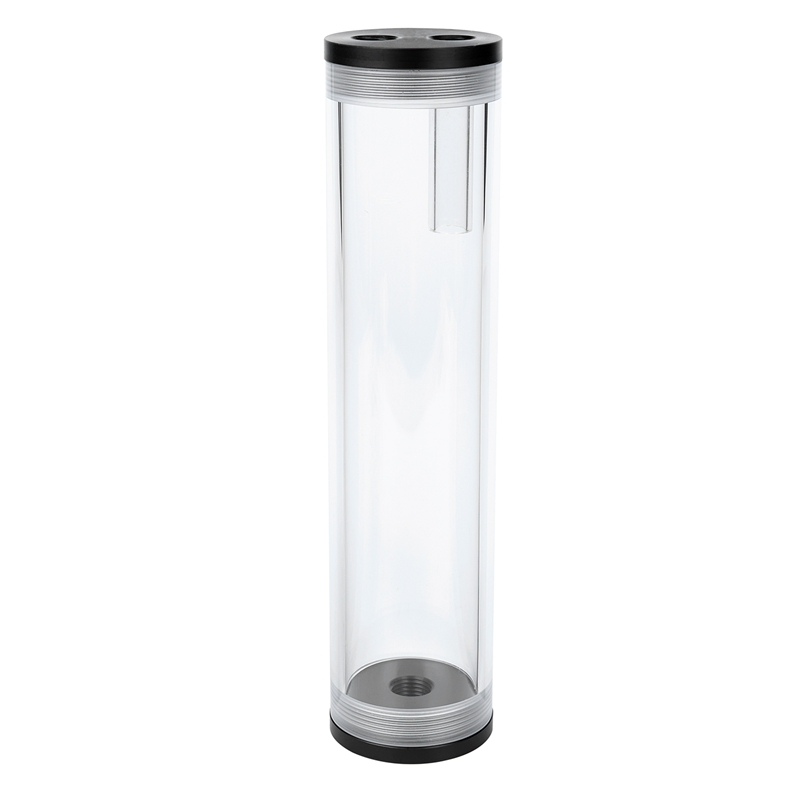 Promotion! 210MM Length 50MM Diameter Cylindrical Water-cooled Tank Accessories Complete PMMA Water Tank Water Cooling Computer