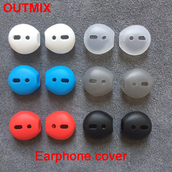 2020 new mini super soft wireless bluetooth headset silicone earphone cover for i7 i9 i11 i12 i14 i18 i1000 tws i500 i9000 pro image