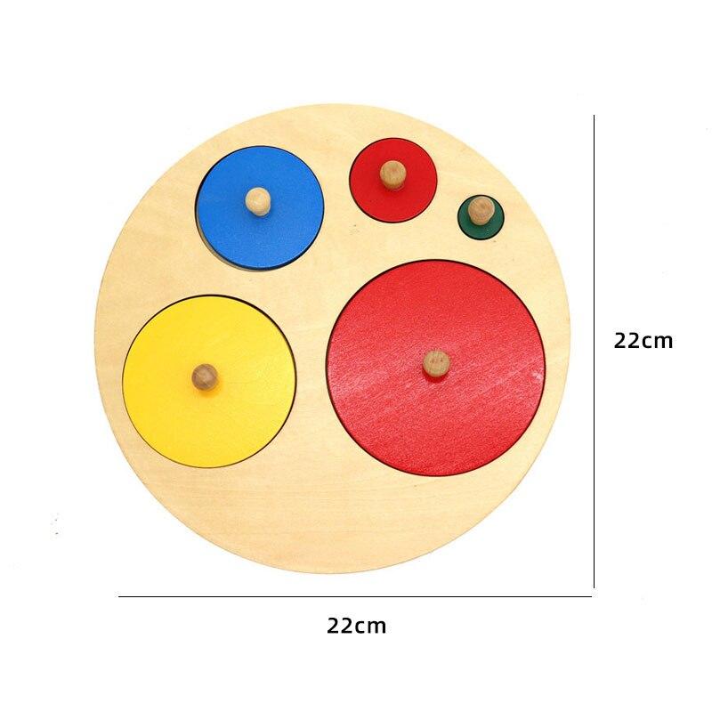 Kids Wooden Montessori Toys Memory Match Stick Educational Color Cognitive Geometric Shape Puzzles Toys For Children 44