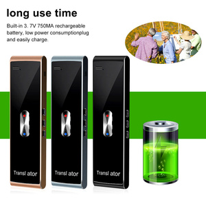 Image 5 - נייד חכם מיידי קול מתורגמן T8S רב שפה הדיבור אינטראקטיבית מתורגמן Bluetooth בזמן אמת