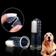 5 шт Горячая супер мягкая надеваемая на палец зубная щетка для домашних животных плюшевая собака щетка неприятный воздух зубной камень инструмент собака кошка чистящие принадлежности