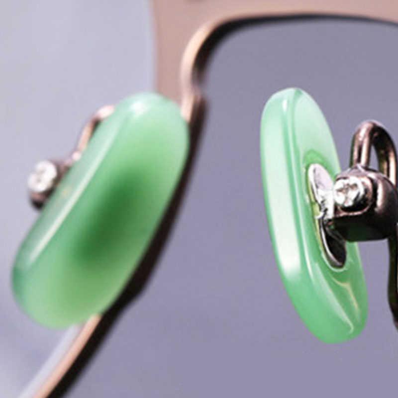 模造ヒスイネジ鼻パッドサポートメガネサングラスサポート鼻パッド眼鏡アクセサリー
