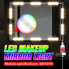 Lamps Vanity-Bulb Makeup-Mirror-Light Cosmetic Hollywood Led Dressing Dimmable USB 2