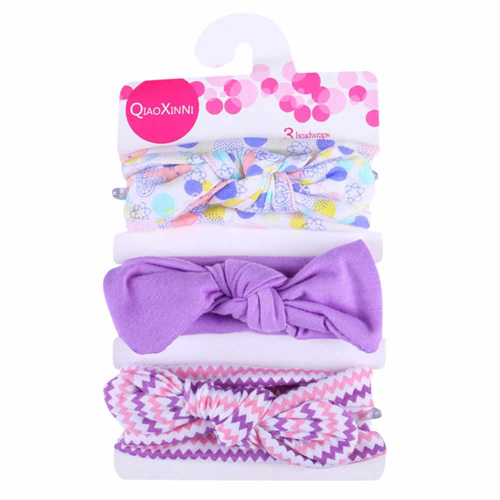 Recém-nascido bonito do bebê bandana atado crianças acessórios de cabelo floral para meninas headwear fotografia adereços 2020 dropshipping quente