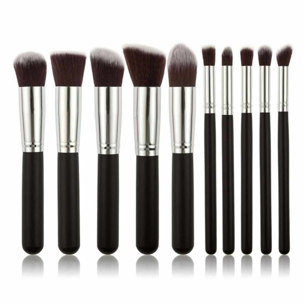 Fashion Makeup Brush Luxury For Foundation Powder Blush Eyeshadow Concealer Lip Eye Makeup Brush Set Cosmetic Beauty Tools