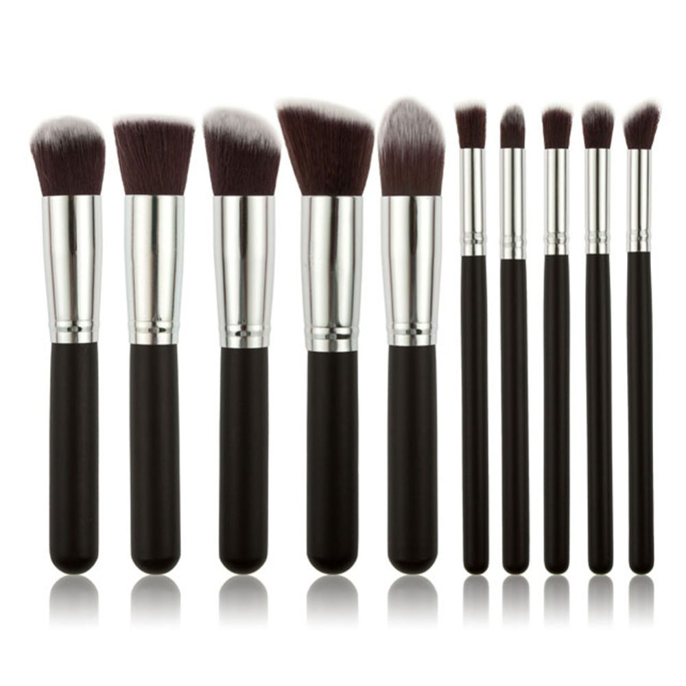 Fashion Makeup Brushes Luxury For Foundation Powder Blush Eyeshadow Concealer Lip Eye Make Up Brushes Set Cosmetics Beauty Tools