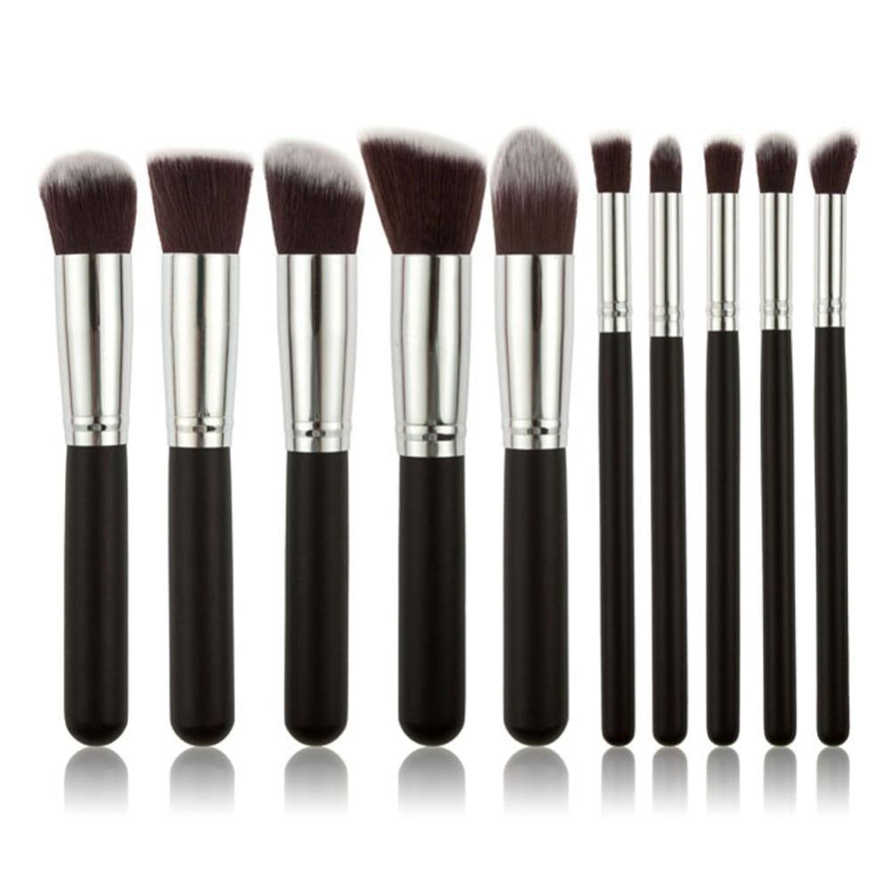 Fashion Makeup Brushes Luxury For Foundation Powder Blush Eyeshadow Concealer Lip Eye Make Up Brushes Set Cosmetics Beauty Tools
