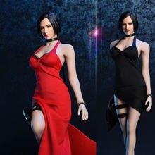 18xg14 черное/красное вечернее платье комплект аксессуаров из
