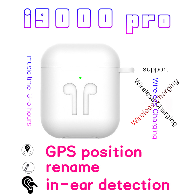<font><b>Original</b></font> i9000 Pro <font><b>TWS</b></font> In ear Blutooth Earphone Mini Wireless Sport Headset Headphone Stereo Earbuds Elari Airpodering Air 2 image
