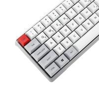 SSKYEE Keycap Aluminum Alloy Shell Gateron Switch Mechanical Keyboard Keycap GK64 PBT Hot Swap RGB Keycap (Not Keyboard)