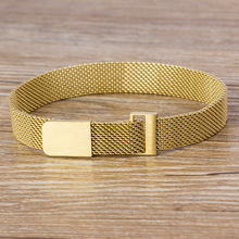 Strap Bangle Bracelets Jewelry Stainless-Steel Magnetic 7-Colors Gift Women Lovers