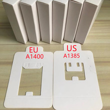 10Pcs High Quality A1400 A1385 US/EU Plug USB AC Power Adapter Wall Charger For Phone 6s 7 8 PLUS XS Max With retail package