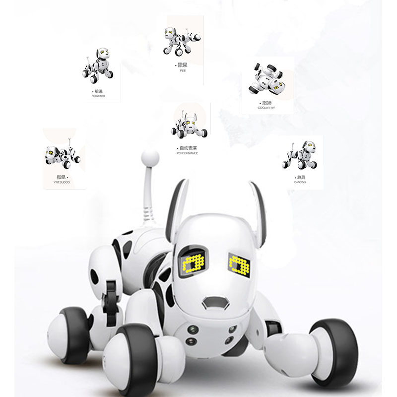 Remote Control Smart Electronic Dog 2.4G Wireless Intelligent Talking Robot Dog