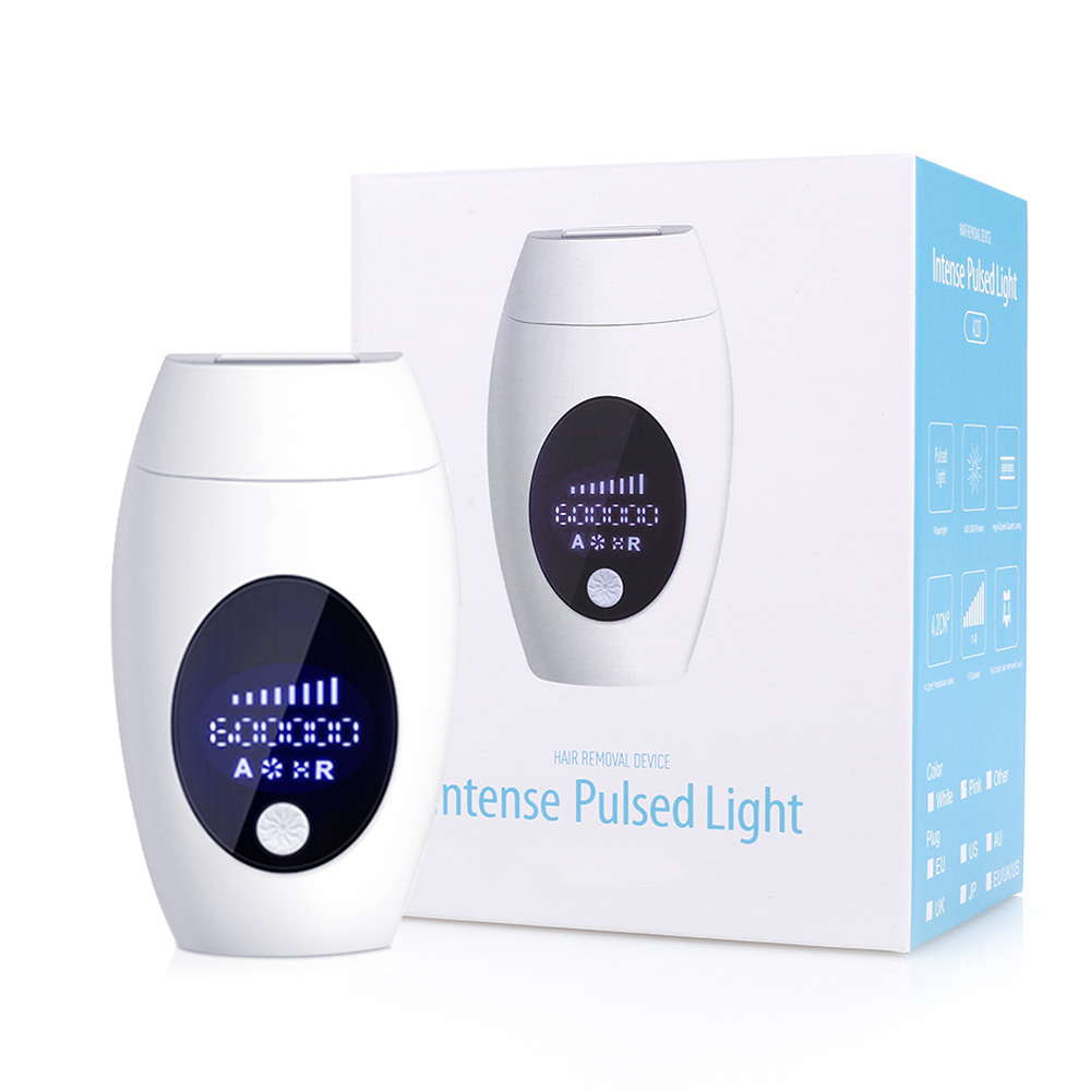 600000  Flash IPL Epilator Laser Hair Removal Depiladora Facial Electric Photoepilator Painless Portable Depilator Machine