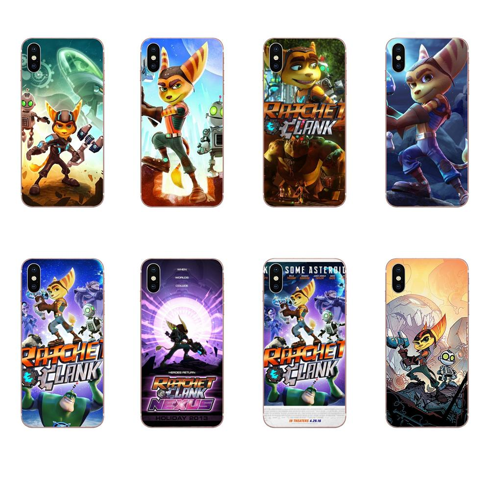 Design Cell Phone Case For Xiaomi Redmi Mi 4 7A 9T K20 CC9 CC9e Note 7 8 9 Y3 SE Pro Prime Go Play Game Ratchet And Clank image
