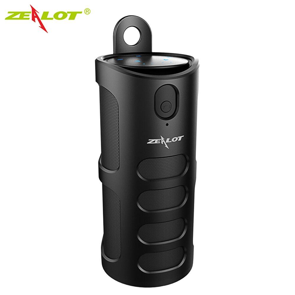 Zélot S8 Bluetooth haut-parleur sans fil Subwoofer 3D stéréo haut-parleur couverture contrôle tactile AUX dans la lecture de carte TF mains libres avec micro
