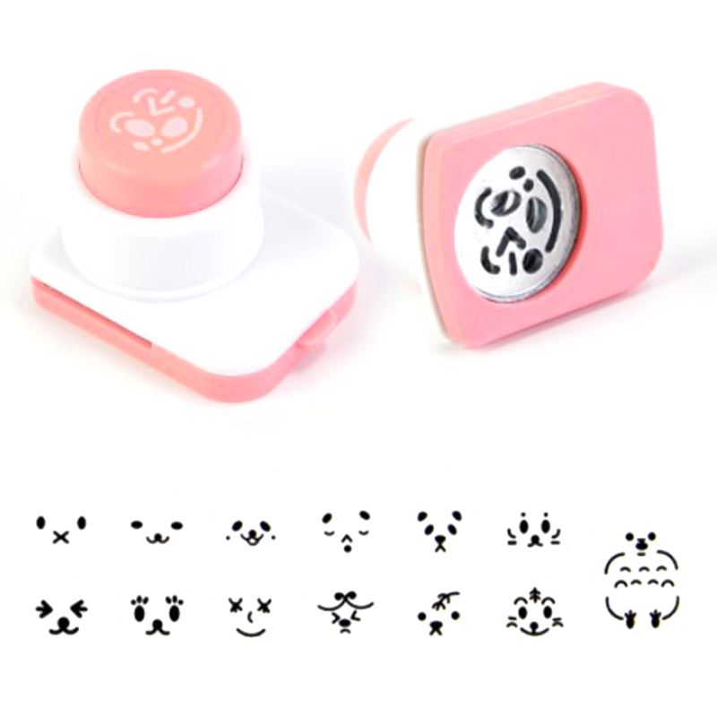Bento Decoration Rice Ball Molds Seaweed Cutter Cartoon Kitchen Gadgets Embossing Device DIY Making Sushi Maker Mould