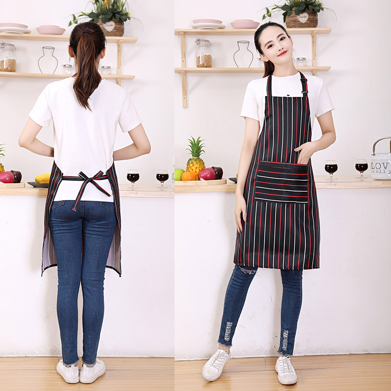 Kitchen Cooking Apron For Woman Men With a pocket Chef Waiter Cafe Shop BBQ Hairdresser Aprons Kitchen Bib