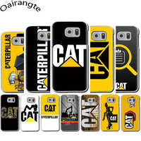 Funda rígida con logotipo de Caterpillar para Samsung Galaxy S6 7 Edge S8 9 10 Plus Note8 9 M10 20 30