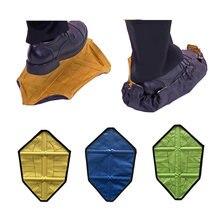 2 _ новый шаг в носках многоразовая Крышка для обуви одношаговый