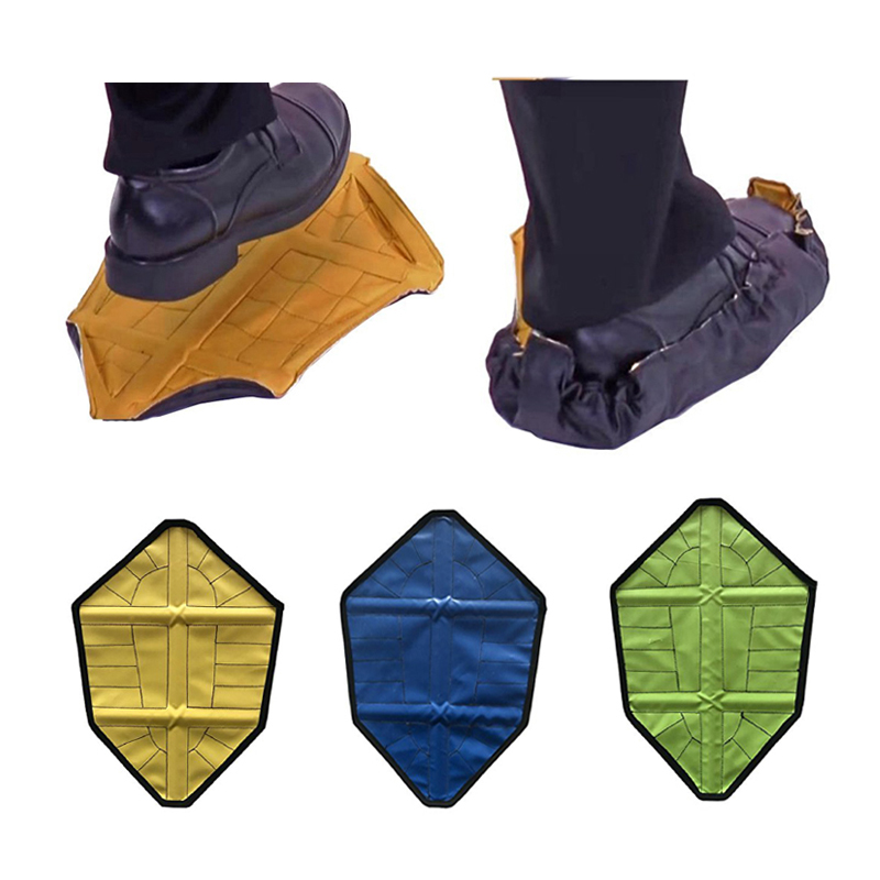 Reusable Step In Sock Hands Free Shoe Covers Shoe Boot Cover Durable Portable US