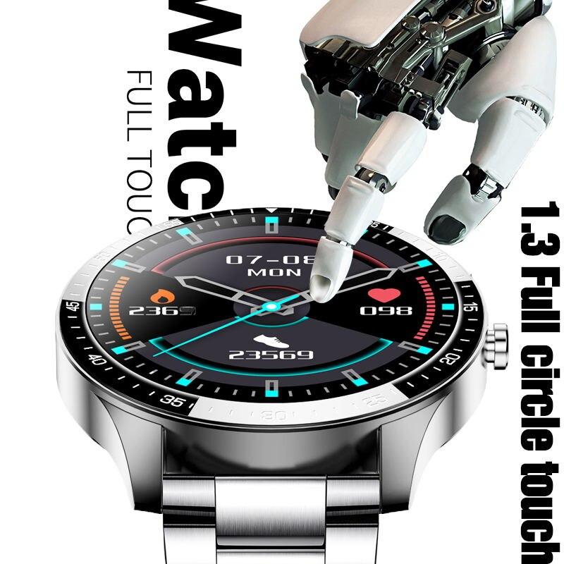"""LIGE New Smart watch Men waterproof 1.3"""" Full touch screen Sports Smart watch heart rate Fitness tracker Men Smart Watch Women 2"""