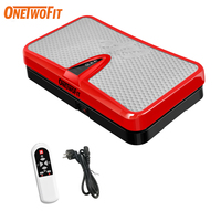 ONETWOFIT Fitness Equipment for Home Exercise Vibration Plate Body Slimming Machine for Rejection of fat Muscle Stimulator Sport