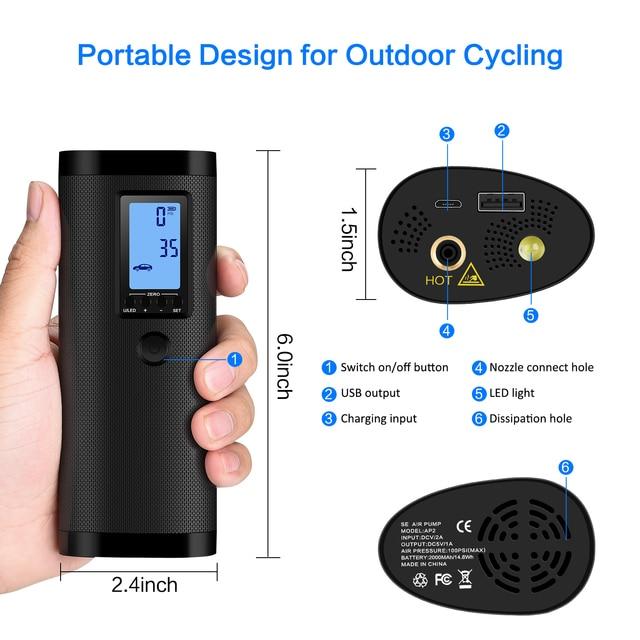 Portable Air Pump 5