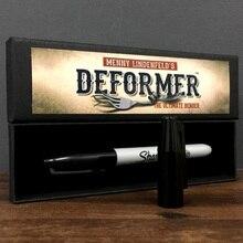 Deformer от Menny Lindenfeld(Gimmick pen и онлайн-инструкт) умные фокусы комедия монета изгиб иллюзии магический реквизит