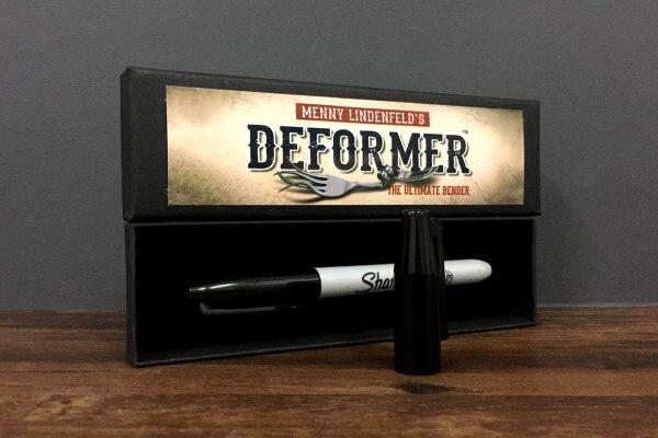 Deformer بواسطة منى Lindenfeld (حيلة القلم و على الانترنت إرشاد) Mentalism الخدع السحرية الكوميديا عملة الانحناء أوهام السحر الدعائم