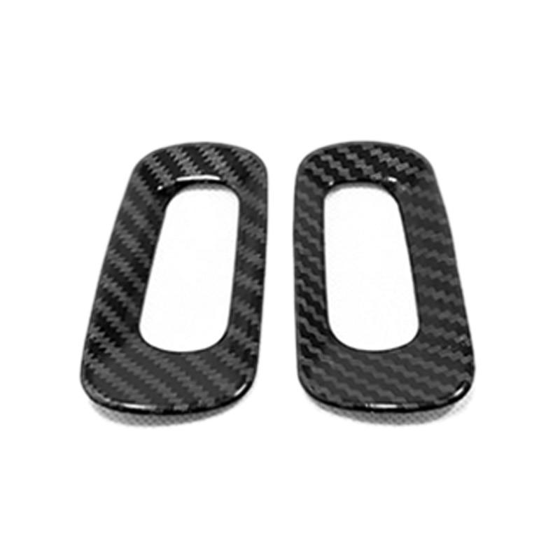 WHJIXC pour Volvo XC40 2019 Fibre de Carbone Couleur Voiture Center Console Bouton de r/églage du Volume Cadre d/écoration Autocollant Garniture