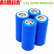 2021 NEW 3.2V -9000mAh - 32700 Battery 9000 MAh Battery LiFePO4 55A High Power Maximum Continuous Discharge Battery