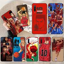 CUTEWANAN Anime SLAM DUNK Black TPU Soft Rubber Phone Cover for Xiaomi Mi10 10Pro 10 lite Mi9 9SE 8SE Pocophone F1 Mi8 Lite(China)