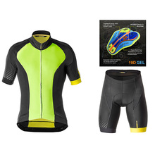 Cycling Jersey 2019 Pro Team Mavic Ropa Ciclismo Hombre Summer Short Sleeve Jerseys Clothing Triathlon Bib Shorts Suit