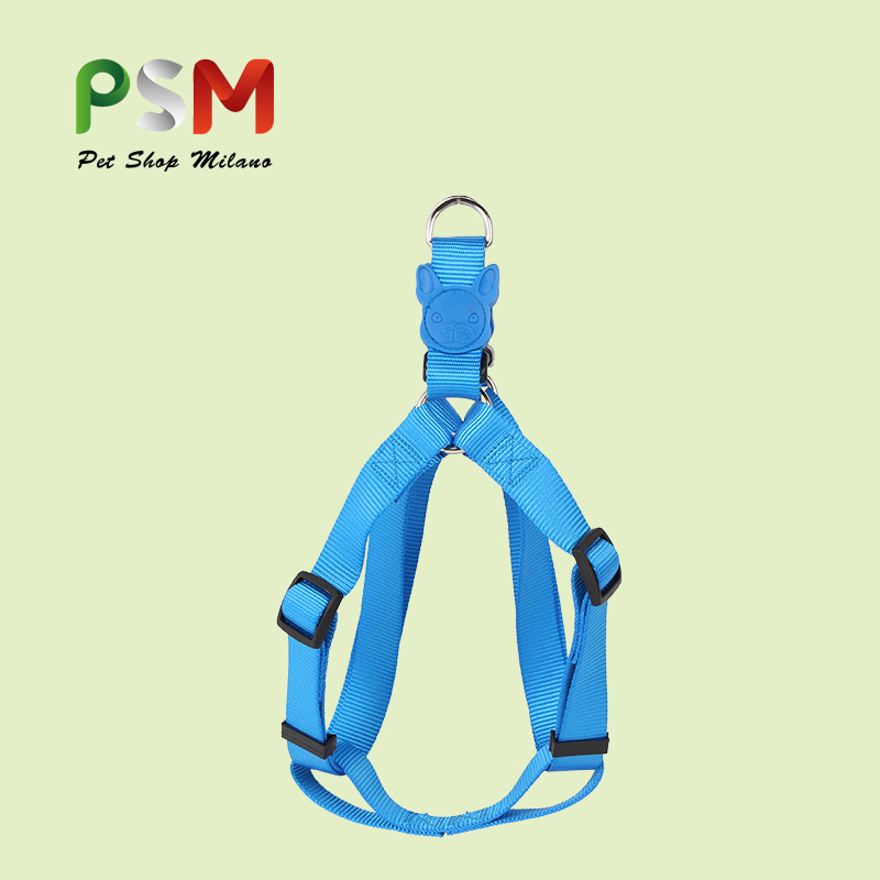 P Pet Traction Rope Chest And Back Nursing Nylon Solid Color Dog Hand Holding Rope