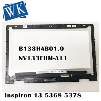 Free shipping 13.3 For DELL Inspiron 13 5368 5378 7378 7368 FHD LED LCD screen B133HAB01.0 NV133FHM-A11