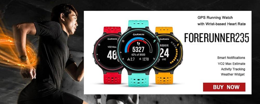 Garmin Vivosport M//L Fitness Tracker GPS Sport Uhr Smart Notifications