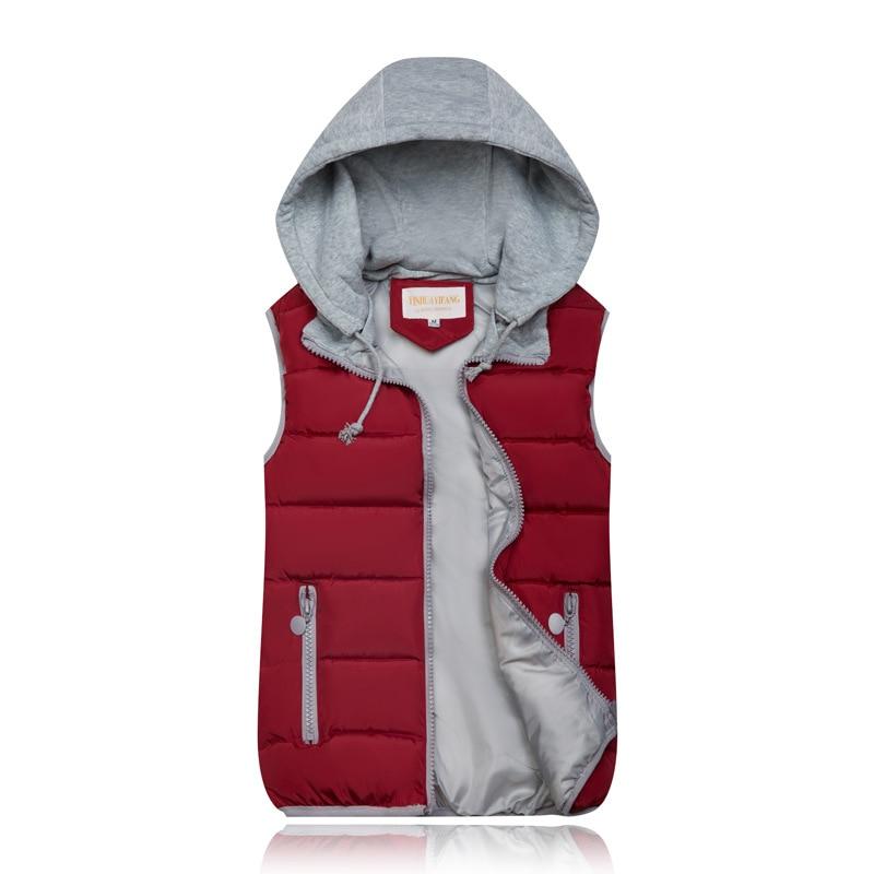2019 Winter Coat Women Hooded Warm Vest Plus Size Candy Color Cotton Jacket Female Women Wadded 2019 Winter Coat Women Hooded Warm Vest Plus Size Candy Color Cotton Jacket Female Women Wadded Feminina chalecos